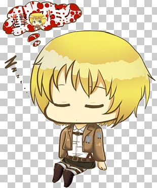 Armin Arlert Attack On Titan Chibi Manga A.O.T.: Wings Of Freedom PNG
