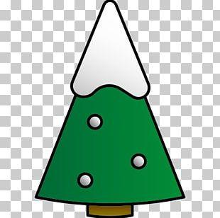 Christmas Tree Line Angle Area PNG