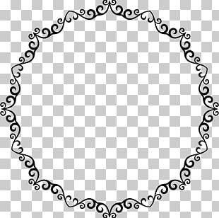 Decorative Borders Circle PNG