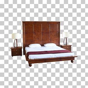 PortsideCafe Furniture Studio Bed Frame Headboard Mattress PNG