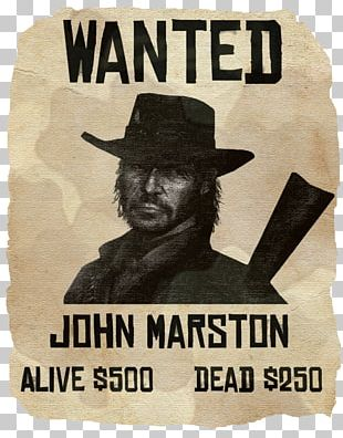 Red Dead Redemption 2 PlayStation 3 John Marston Video Game PNG