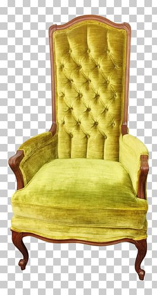 Chair Furniture Velvet Tufting Upholstery PNG