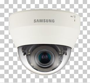 High Efficiency Video Coding IP Camera Samsung Techwin America Qnd-7080r 4mp Indoor Dome Network Camera Closed-circuit Television PNG