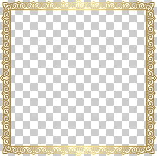 Square Area Text Frame Pattern PNG