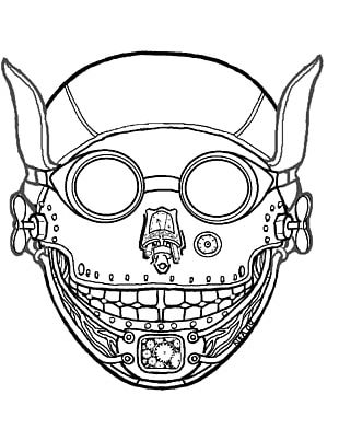 Traditional African Masks Coloring Book Halloween Costume Masquerade Ball PNG