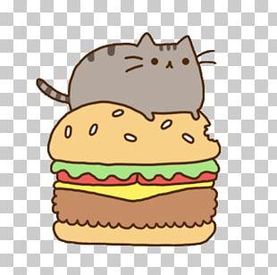 Cat Hamburger Kitten Pusheen PNG