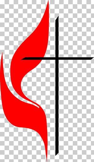 First United Methodist Church Preschool Cross And Flame Christianity Christian Church PNG