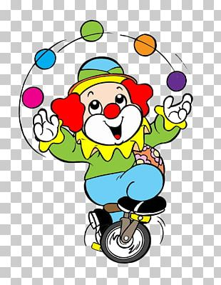 Clown #1 Circus Drawing PNG