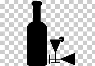 Glass Bottle White Wine Red Wine PNG