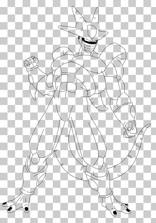 Line Art White Cartoon Character Sketch PNG