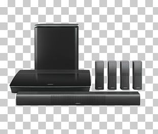 Home Theater Systems 5.1 Surround Sound Bose Corporation Center Channel Loudspeaker PNG