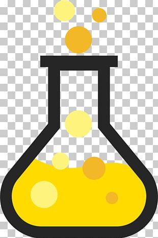 Chemistry Laboratory Flasks Erlenmeyer Flask PNG