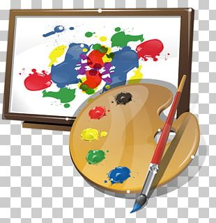 Drawing Watercolor Painting Art Palette PNG
