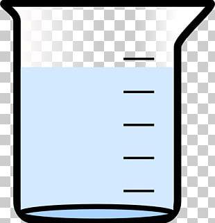 Beaker Laboratory Water PNG