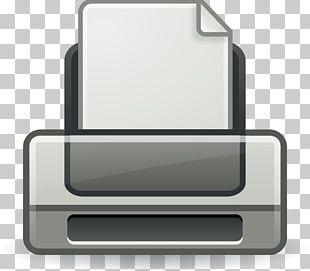 Printing Computer Icons PNG