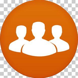 Orange Smile Circle PNG