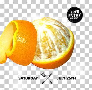 Orange Juice Peel PNG