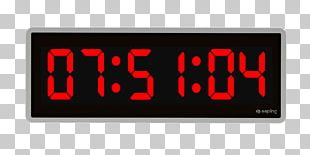 Radio Clock Digital Clock Timer Alarm Clocks PNG