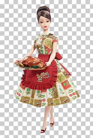Happy New Year Barbie Doll Fashion Doll Thanksgiving PNG