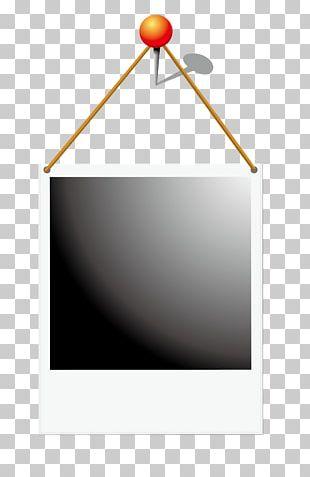 Black And White Frame Digital Photo Frame PNG