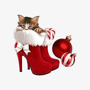 Christmas Shoes PNG