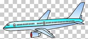Boeing 767 Air Transportation Airplane Train PNG