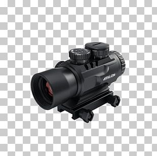 Telescopic Sight Reticle Red Dot Sight Optics Eye Relief PNG