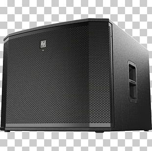 Electro-Voice Loudspeaker Subwoofer Class-D Amplifier Powered Speakers PNG