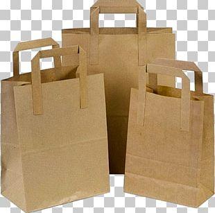 Kraft Paper Adhesive Tape Paper Bag Plastic Shopping Bag PNG
