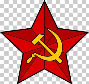Soviet Union Hammer And Sickle Communism Red Star PNG