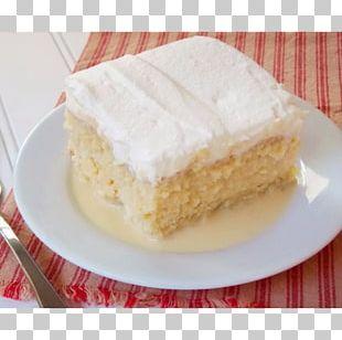 Tres Leches Cake Milk Torte Cream Coconut Cake PNG
