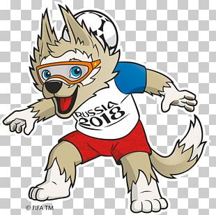 2018 World Cup Russia Zabivaka FIFA World Cup Official Mascots PNG