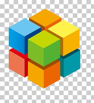 3D Computer Graphics Cube Information PNG