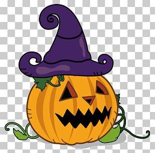 Jack-o'-lantern Pumpkin Halloween Copyright-free PNG
