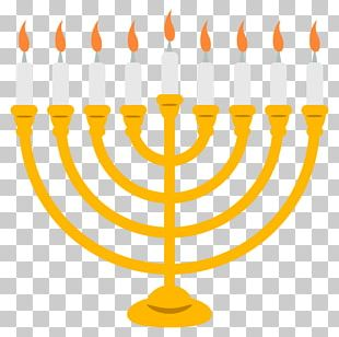 Celebration: Hanukkah Menorah Judaism PNG
