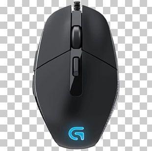 Computer Mouse Logitech G302 Daedalus Prime Optical Mouse Dots Per Inch PNG
