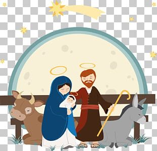Nativity Of Jesus Child Jesus Drawing Illustration PNG