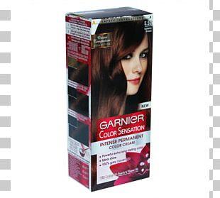 Hair Coloring Garnier Human Hair Color PNG