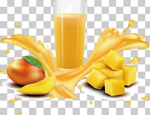 Orange Juice Mango PNG