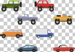 Sports Car MINI Cooper Pickup Truck PNG