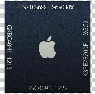 Apple A6 Apple A9 ARM Cortex-A9 System On A Chip PNG