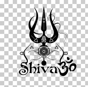 Shiva Graphic Design Line Art PNG