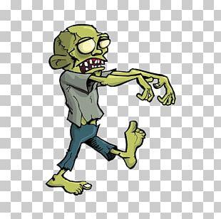 Zombie Cartoon Halloween PNG