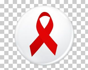 World AIDS Day Red Ribbon Symbol Sign PNG