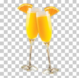 Mimosa Wine Cocktail Bellini PNG