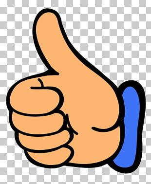 Thumb Signal Smiley Facebook PNG
