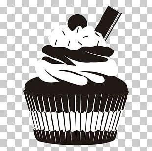 Twelve Cupcakes Birthday Cake Silhouette PNG