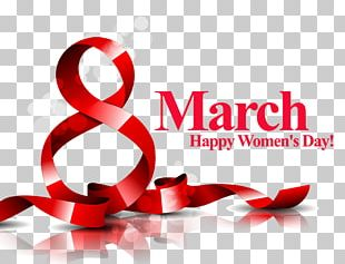 March 8 International Womens Day Woman PNG