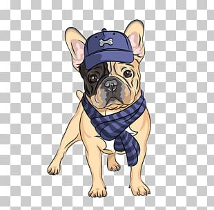 French Bulldog Hipster PNG