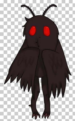 Point Pleasant Mothman Flatwoods Monster Drawing Owlman PNG